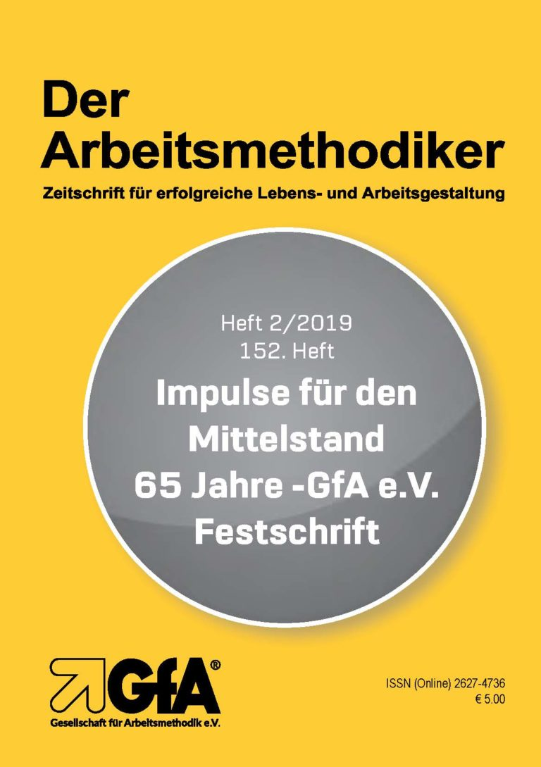 Arbeitsmethodiker 152 PDF Version