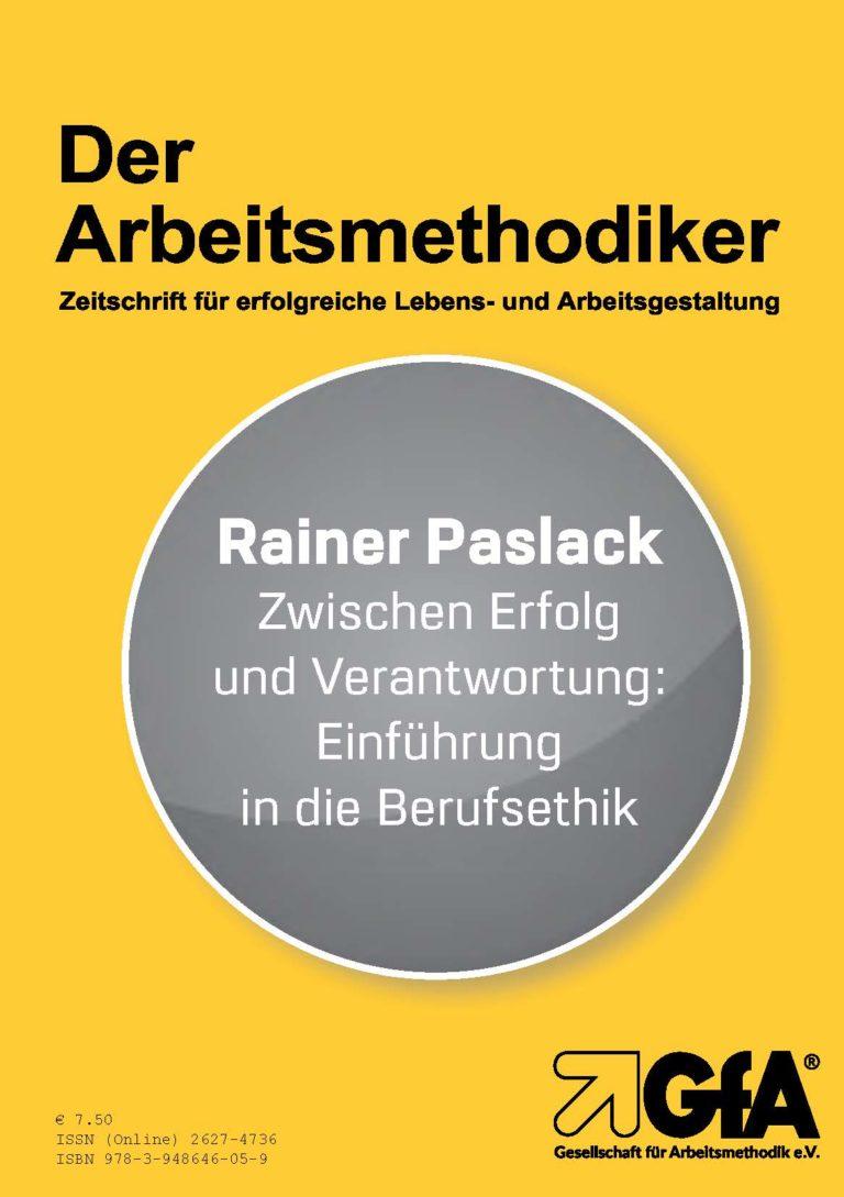 DER ARBEITSMETHODIKER AUSGABE 151 - Rainer Paslack